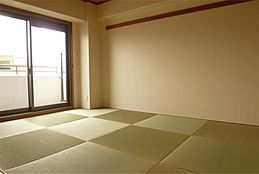 和室。琉球畳。