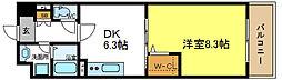 カーサベージュ1[2階]の間取り