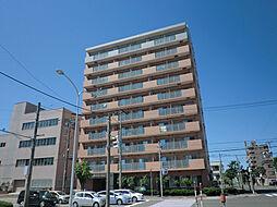 北海道札幌市東区北十五条東5丁目の賃貸マンションの外観