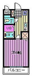 昭栄イーストハイム[3階]の間取り