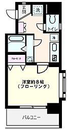ツインバレー東神奈川[205号室号室]の間取り