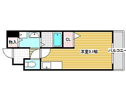 メゾン・ラフィネ[1階]の間取り