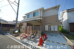 大阪府枚方市牧野下島町の賃貸アパートの外観