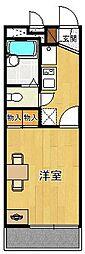 レオパレス甲子園CITY[204号室]の間取り