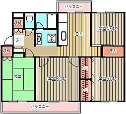 第一KHビル[303号室]の間取り