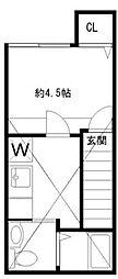 stage下井草[2号室]の間取り