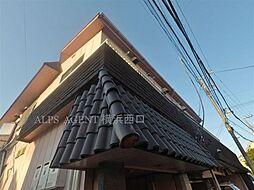 神奈川県横浜市神奈川区三ツ沢東町の賃貸マンションの外観