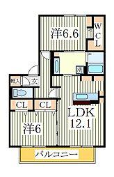 モネ[2階]の間取り
