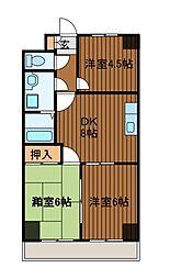 パークハイム渋谷[10階]の間取り