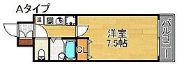セジュール24[7階]の間取り