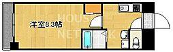 京都府京都市下京区東洞院通五条上る深草町の賃貸マンションの間取り