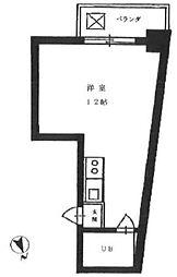 アスカ南麻布[701号室]の間取り