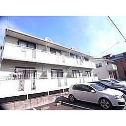 静岡県静岡市駿河区栗原の賃貸アパートの外観