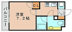 箱崎パルク[5階]の間取り