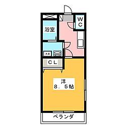 プレ リーブ[2階]の間取り