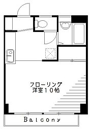 坂上屋ビル[4階]の間取り