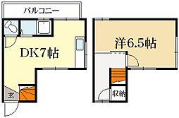 [テラスハウス] 京都府京都市北区上賀茂狭間町 の賃貸【/】の間取り