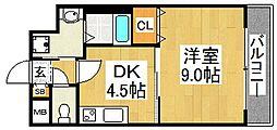 メゾン材木町[6階]の間取り