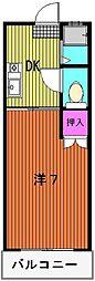 メゾン石丸[303号室]の間取り