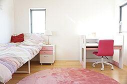 6帖の寝室です...