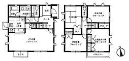 [一戸建] 東京都杉並区浜田山4丁目 の賃貸【/】の間取り