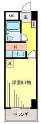 新松戸NCAマンション[7階]の間取り