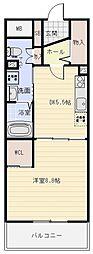 我楽ハウス[3階]の間取り