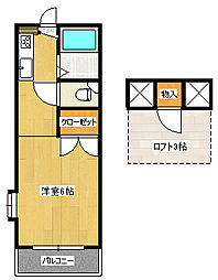 サンシャイン21A[105(0)号室]の間取り