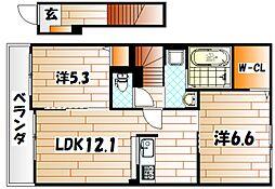 インモビリアーレI[2階]の間取り