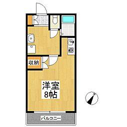 レジデンス高松[6階]の間取り