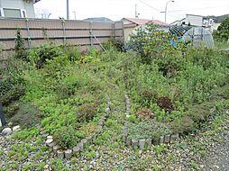 東側に庭があり...