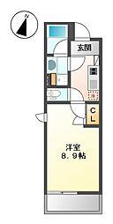 COZY大曽根[3階]の間取り