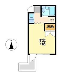 愛知県名古屋市中村区太閤通9丁目の賃貸マンションの間取り
