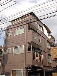 東京都府中市白糸台5丁目の賃貸マンションの外観