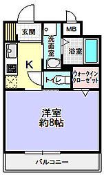 Cell Cube枚方[2階]の間取り