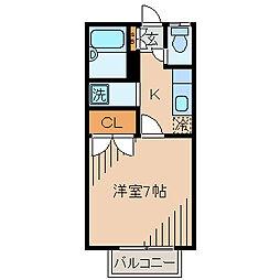 リードハウス[2階]の間取り