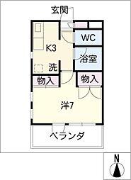 court:house/M[4階]の間取り