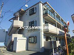 岡山県岡山市北区十日市西町丁目なしの賃貸マンションの外観