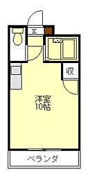 ハイツエスポワール[3階]の間取り