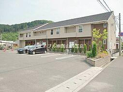 岡山県瀬戸内市長船町長船丁目なしの賃貸アパートの外観