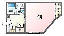 Kハイツ[3階]の間取り