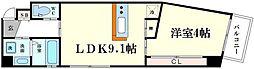 リエット元町[2階]の間取り