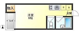トミタマンション[305号室]の間取り