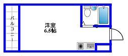 東京都練馬区豊玉上1丁目の賃貸マンションの間取り