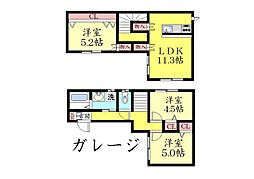 [一戸建] 兵庫県神戸市灘区桜ケ丘町 の賃貸【/】の間取り