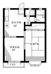クリーンハイム[2階]の間取り