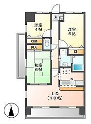 changuIII泉[9階]の間取り