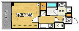 ベラジオ京都鞍馬口[3階]の間取り
