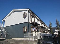 長野県飯田市大瀬木の賃貸マンションの外観