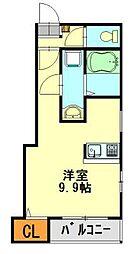 トレド新宿[701号室]の間取り